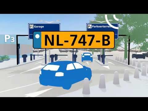 Schiphol P3 Parkeerterrein: parkeren met je kenteken.